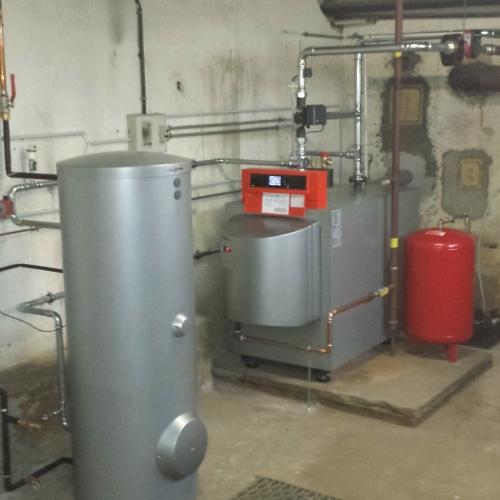 Rénovation avec chaudière gaz haute performance